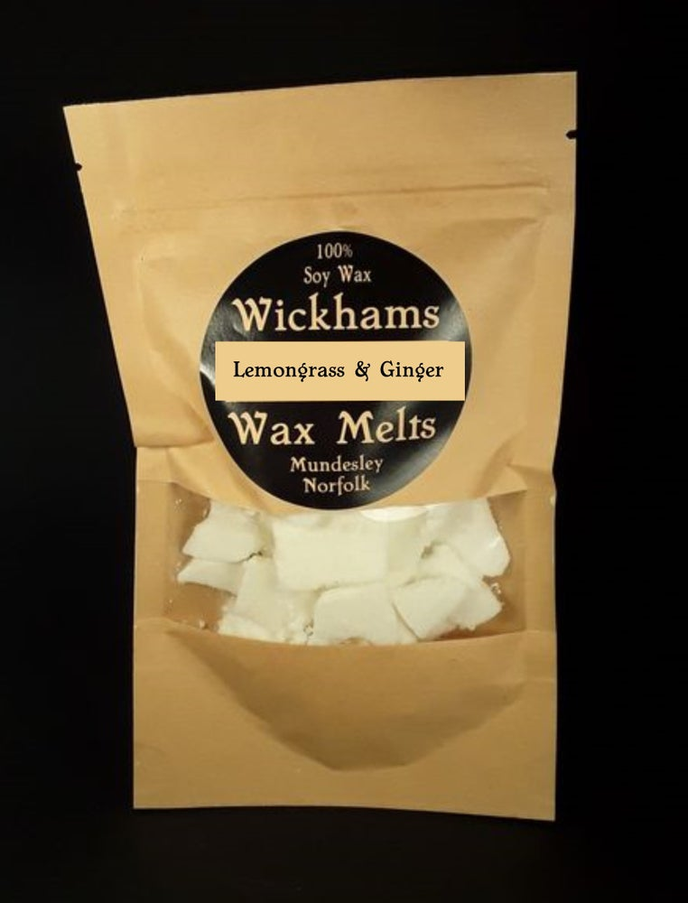 Image of Lemongrass and Ginger wax melt bag