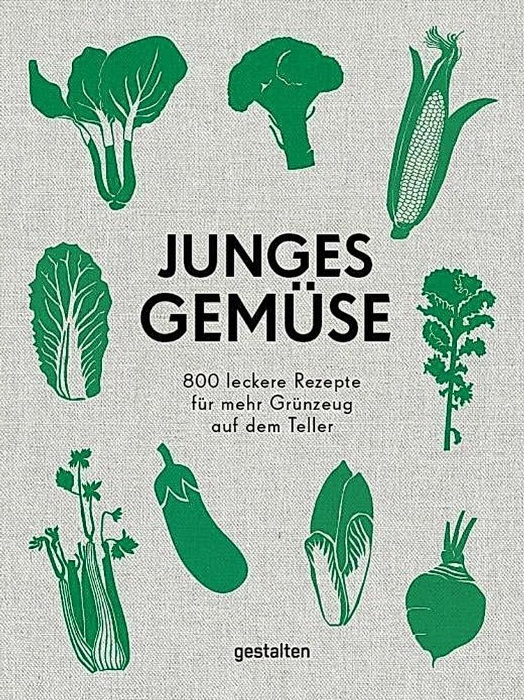 Image of Junges Gemüse | 800 leckere Rezepte für mehr Grünzeug auf dem Teller