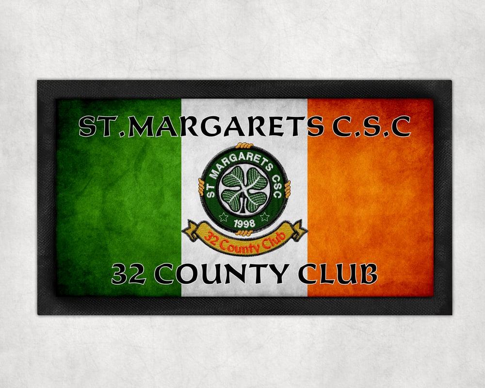 St.Margarets csc Tri Colour Bar Runner