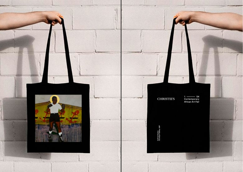 Image of 1-54 and Christie's:  Godfried Donkor Tote Bag
