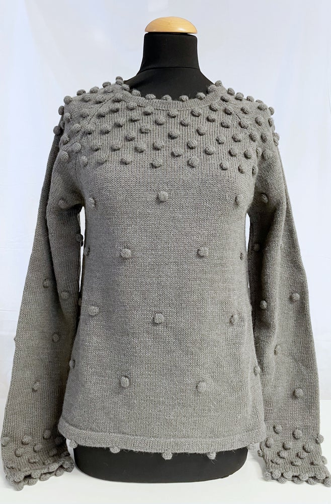 Image of Sweater Dots Grey