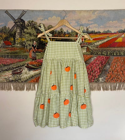 Image of the orange zest dress