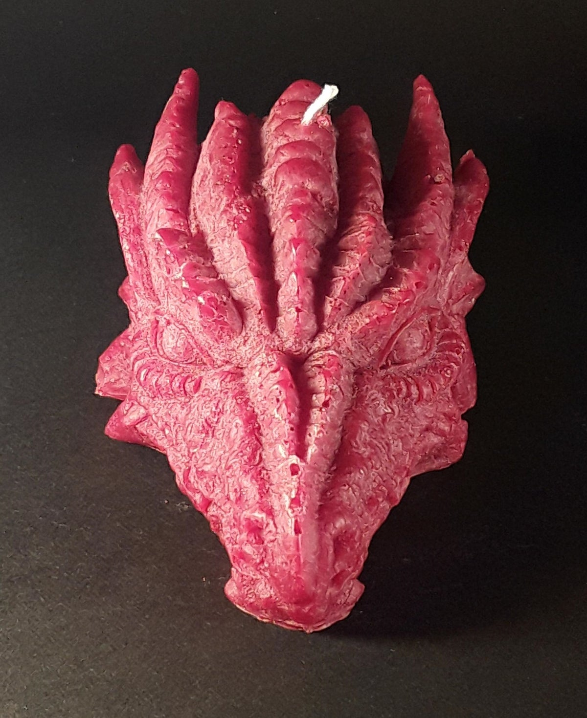 Image of Red Dragon Candle
