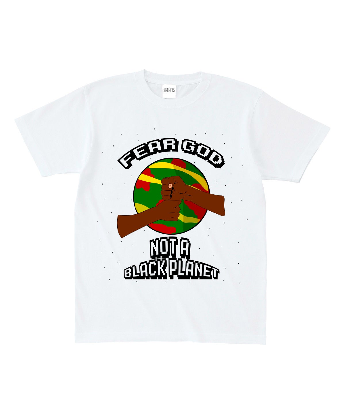 Image of Fear God Not A Black Planet Tee