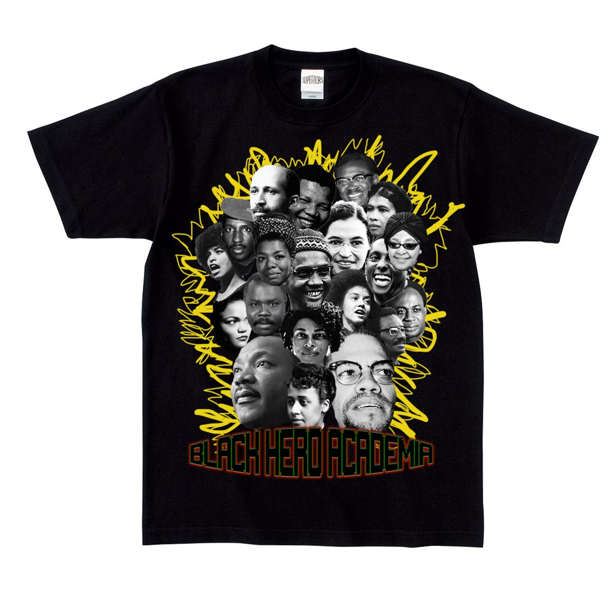 Image of Black Hero Academia Tee