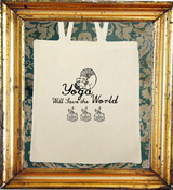 Image of Yoga Will Save the World Canvas Shopper