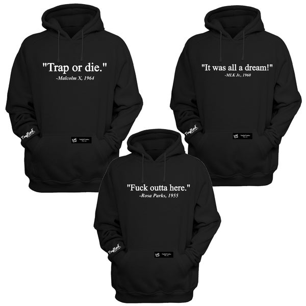 Image of Remixed Activist Quotes (HOODIES)