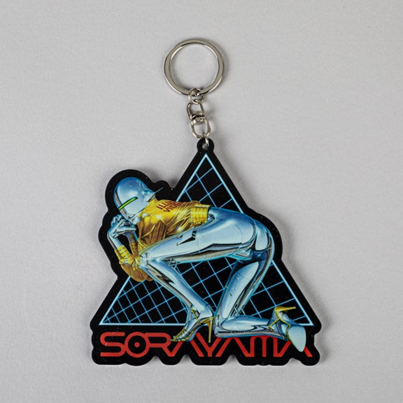 "Image of Medicom Toy X Sorayama Key Chain ""Sexy Robot"" 01"