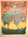The Black Keys 2009 Tour Poster