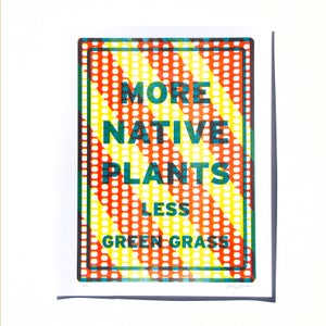 Image of More Native Plants, Less Green Grass