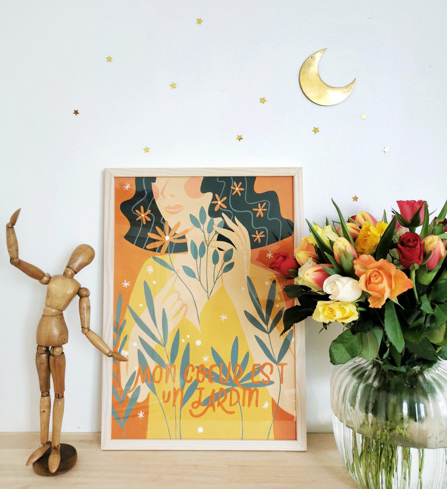 """Image of Kit """"Mon coeur est un jardin"""""""