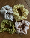 Silk Satin Scrunchies
