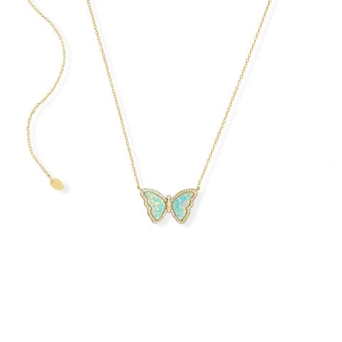 Image of I Am a Beautiful Butterfly Necklace