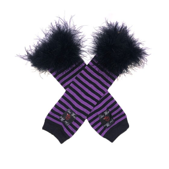 Image of Faerie Academy Arm Fuzzies in Purple