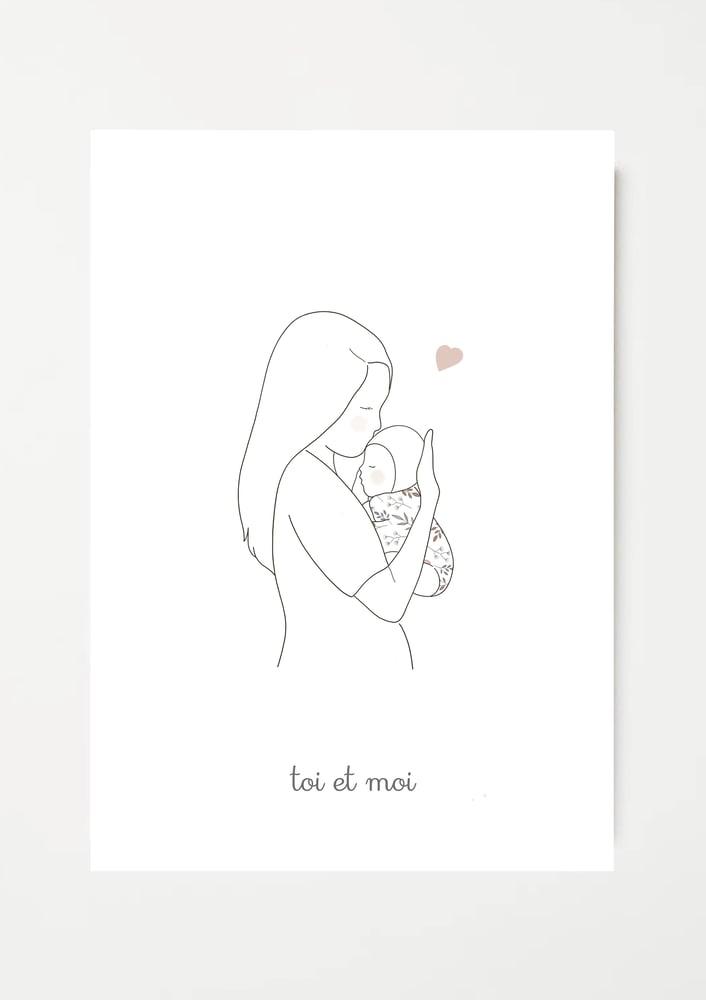 Image of Affiche Toi et moi