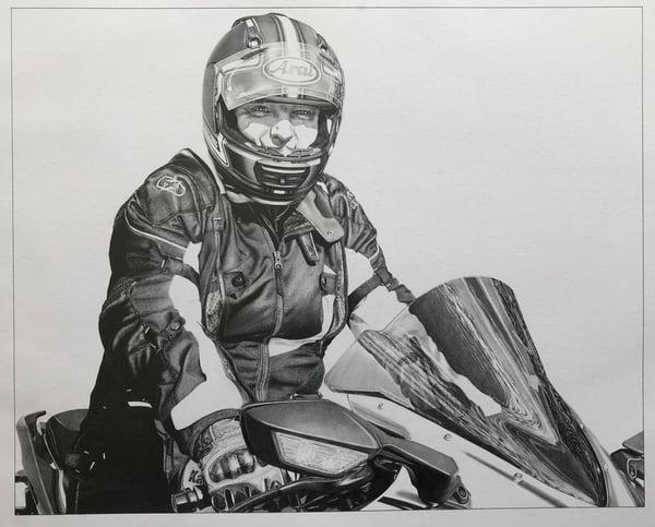 Image of 'Nigel' - Motorcycle Portrait