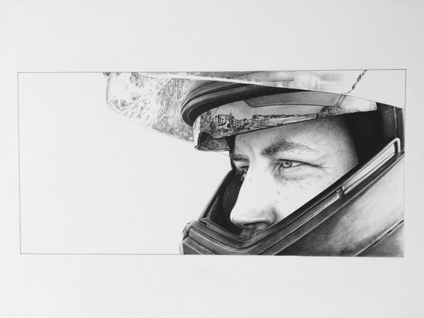 Image of 'James' - Motorcycle Portrait
