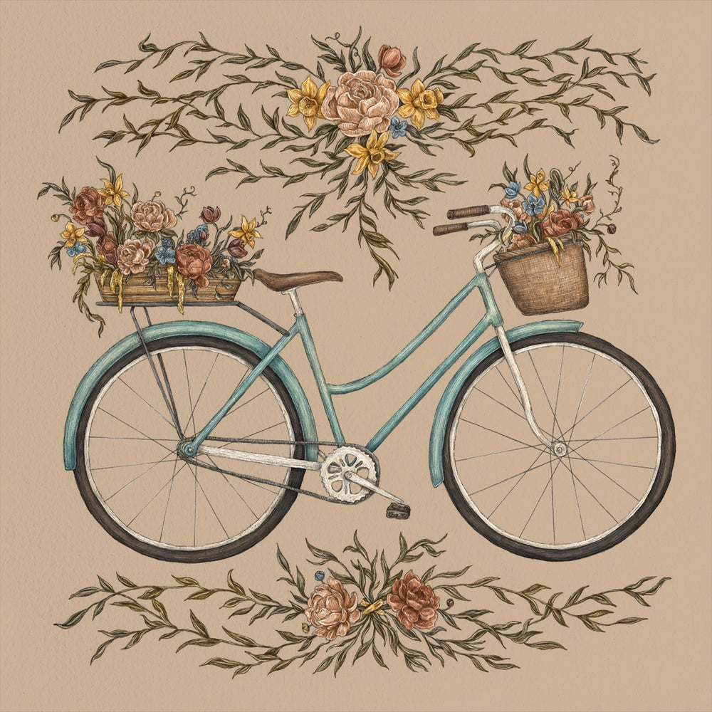 Image of Bicycle Print