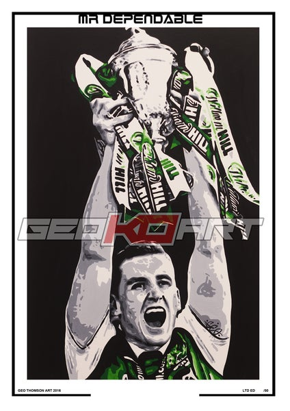 Image of PAUL HANLON HIBS (SIGNED)