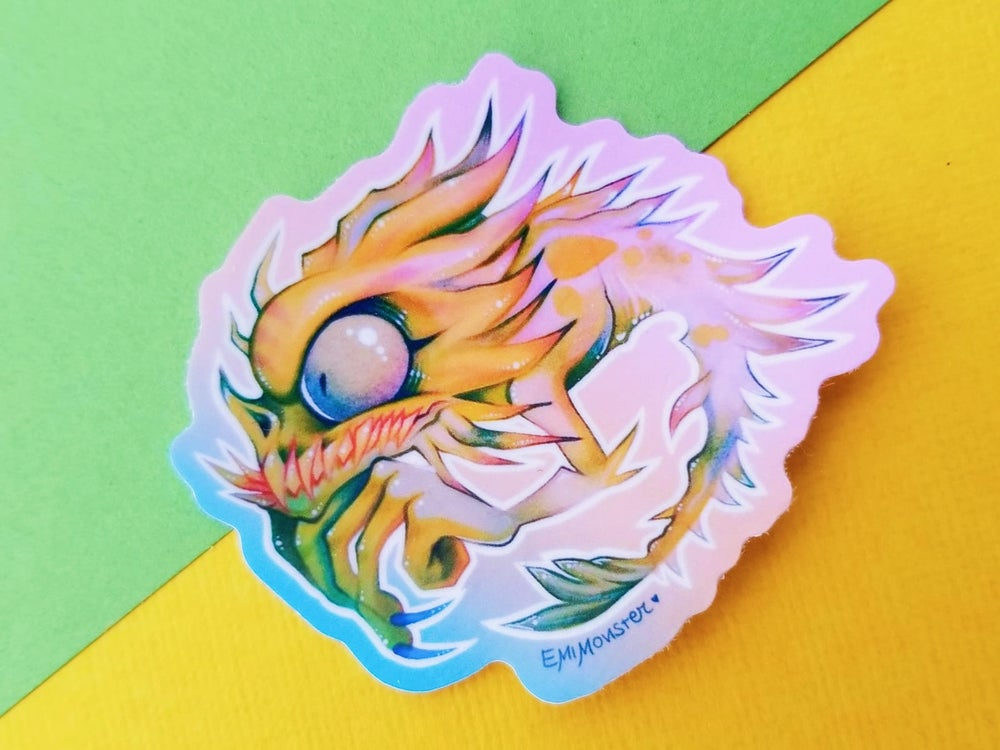 "Image of Squamata 2"" stickers"