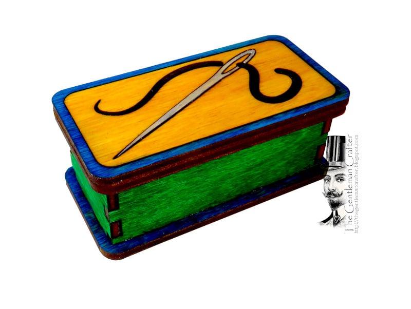 Image of Mini Marquetry Trinket Box Kit- Needle Box