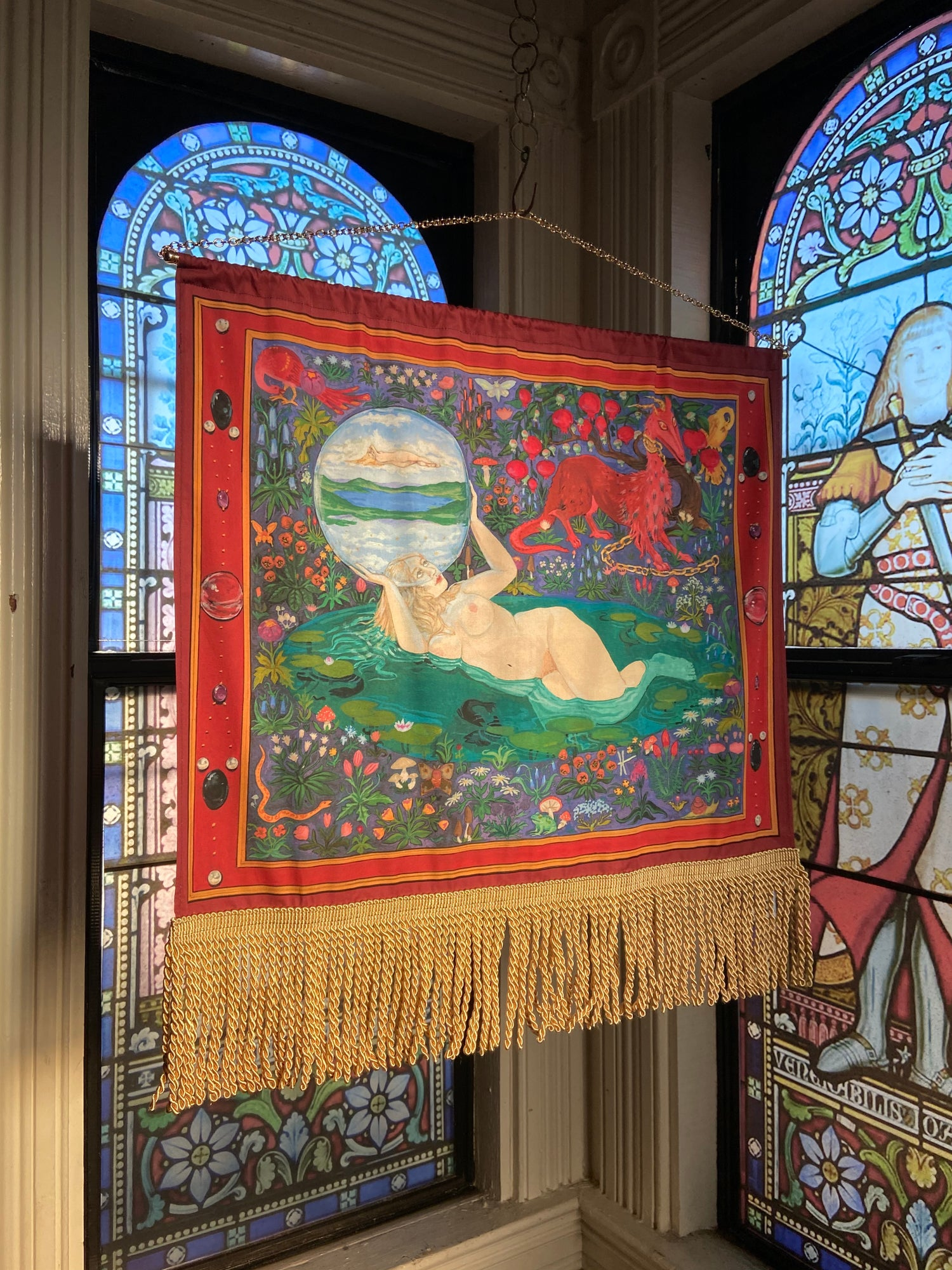 Image of Idolon Tapestry- Hanging Banner