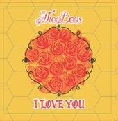 Image of The bees I love you limited vday cover/ jacket vinyl  release
