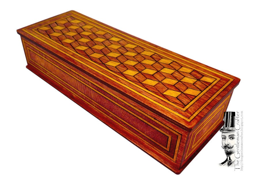 Image of Marquetry Box- Falling Boxes Kit