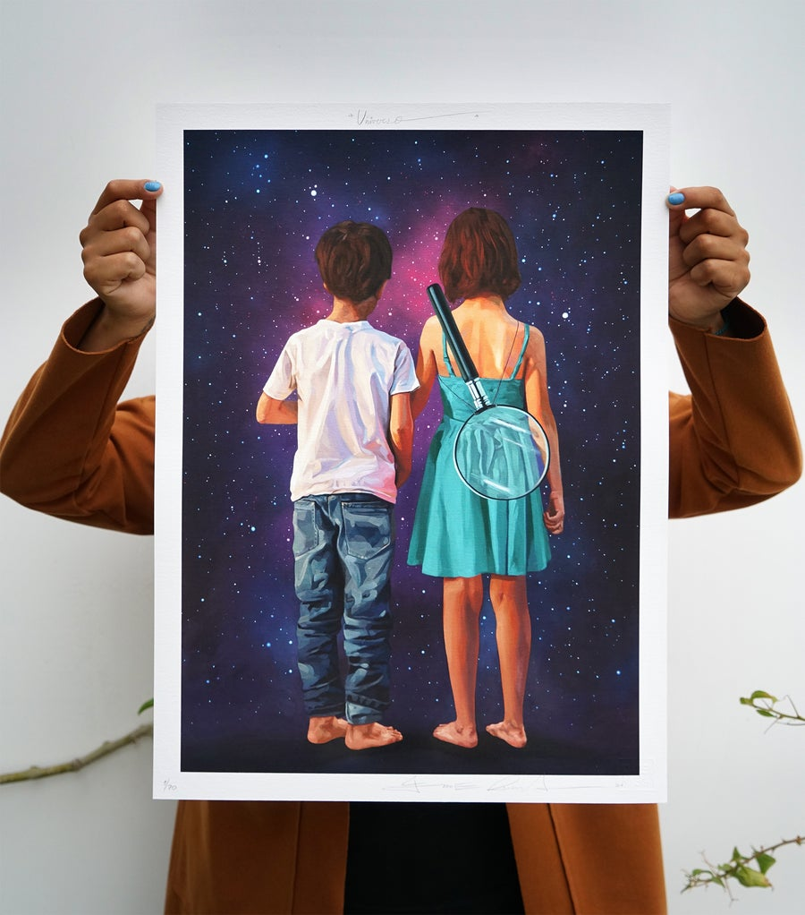 Image of Universo. (Gicleé)
