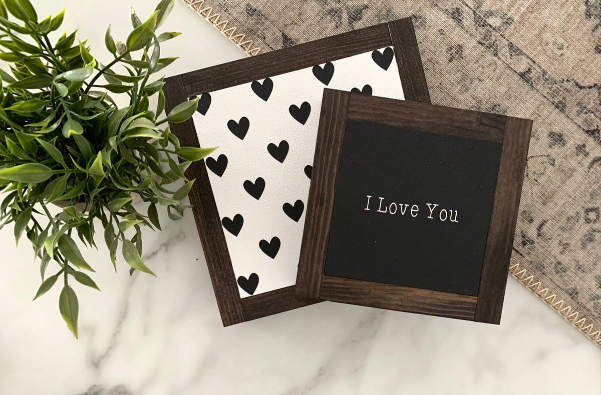 Image of I Love You/Hearts Set
