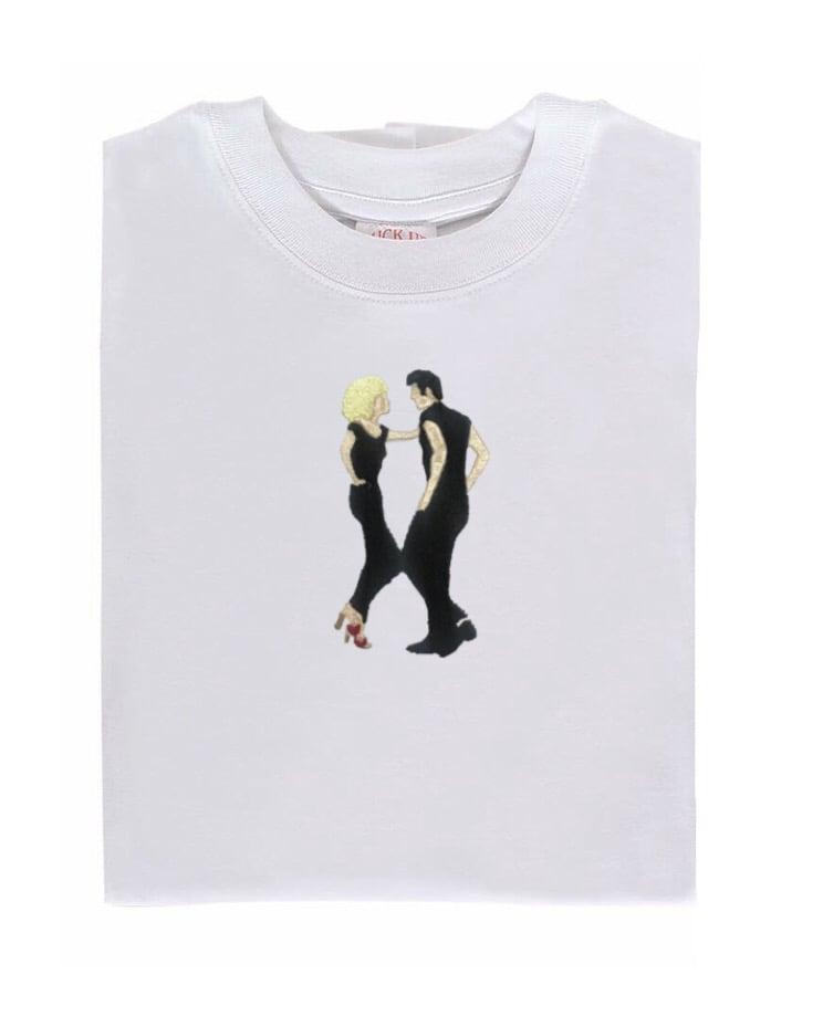 Image of Camiseta bordada Grease