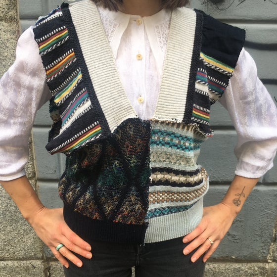Image of PATCHWORK VEST
