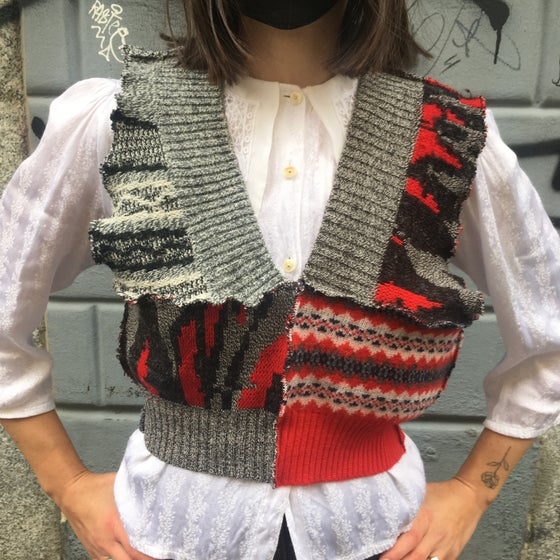 Image of PATCHWORK VEST 2
