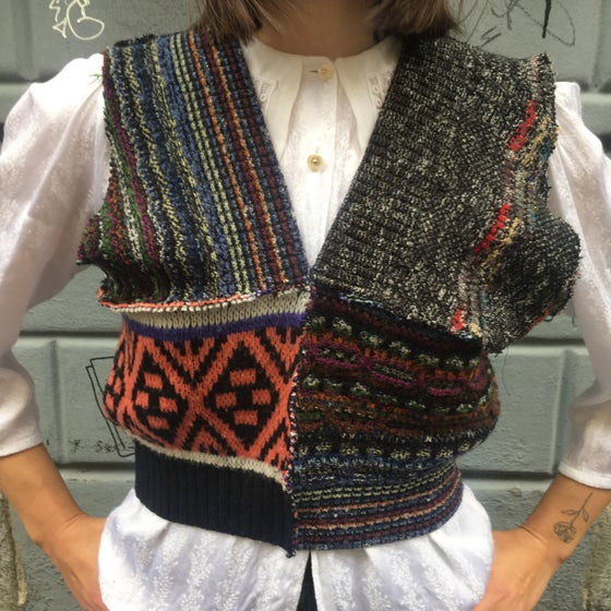 Image of PATCHWORK VEST 3