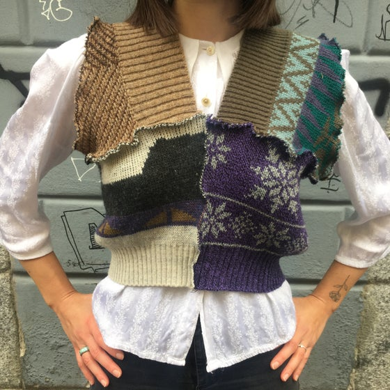 Image of PATCHWORK VEST 4