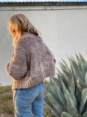 Image of Knitting Pattern - Nanaimo Cardigan