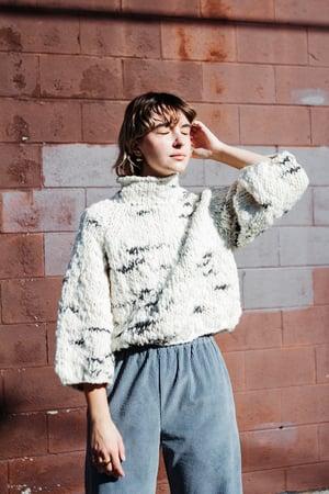 Image of Knitting Pattern - Faro Sweater