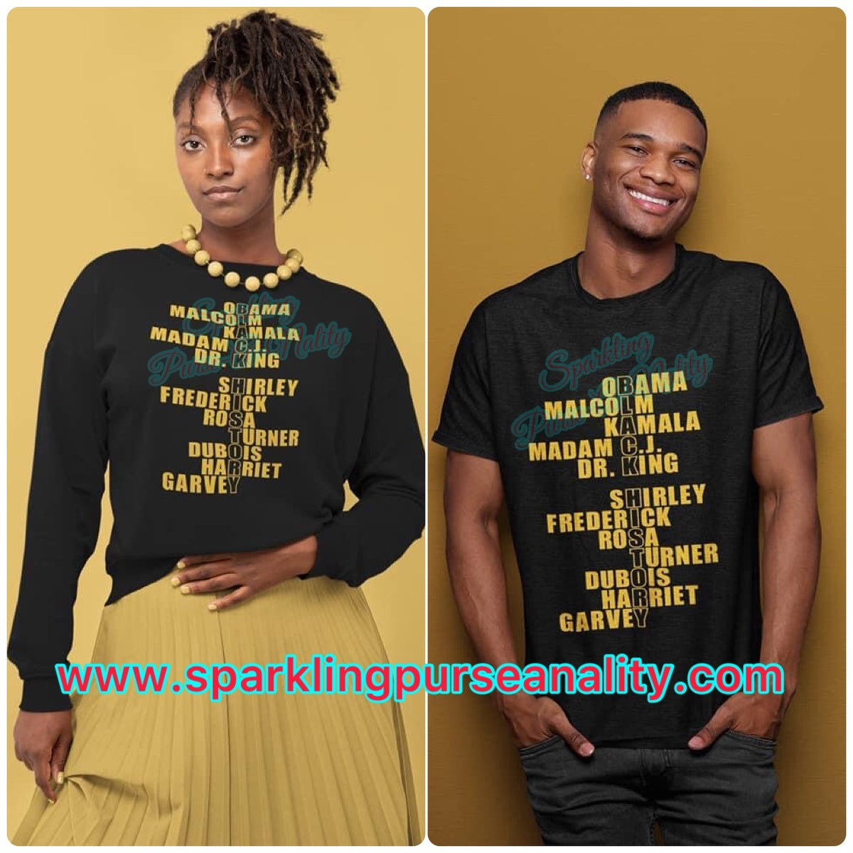 Image of Black History Shirts