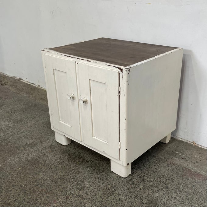 Image of VINTAGE STORAGE CUPBOARD