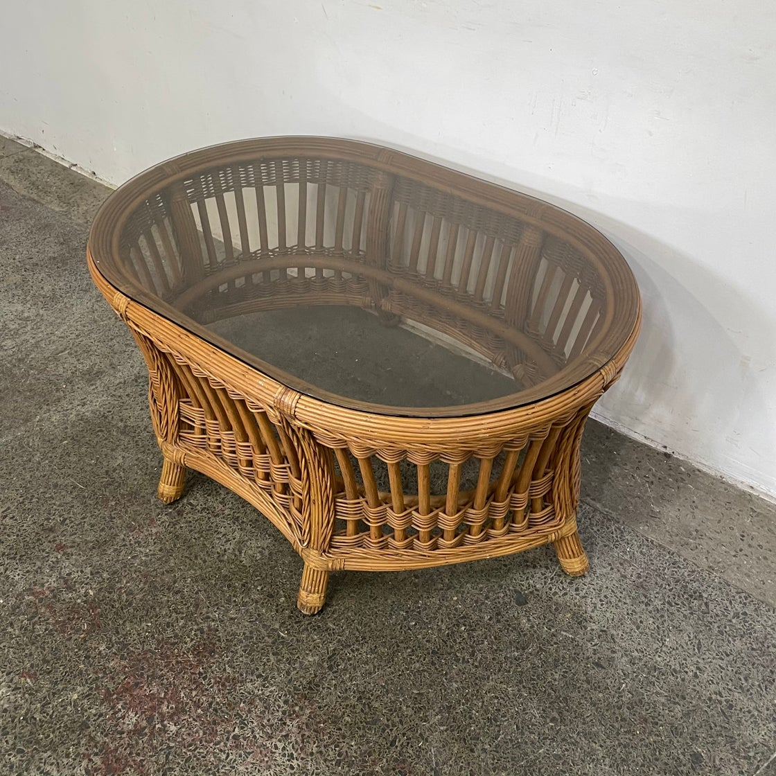 Image of CANE COFFEE TABLE