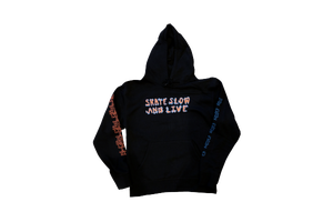 "Image of Nike SB x Skate Like a Girl ""Skate Slow and Live"" Hoodie"