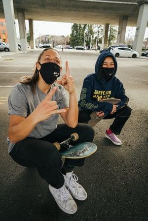 "Image of Nike SB x Skate Like a Girl ""Flip the Script"" T-Shirt"