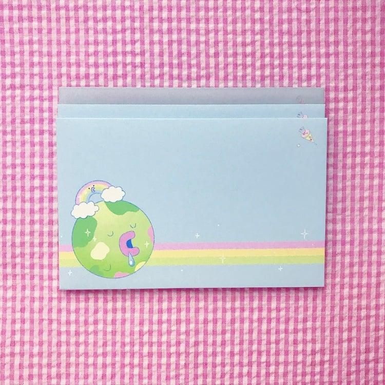 Tama Life Letter Set + Optional Washi Tape
