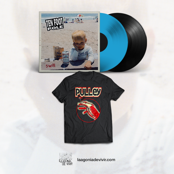 Image of PRE-ORDER NOW!!! Scott RADINSKY bundle (TFP swill Lp + Pulley tshirt)