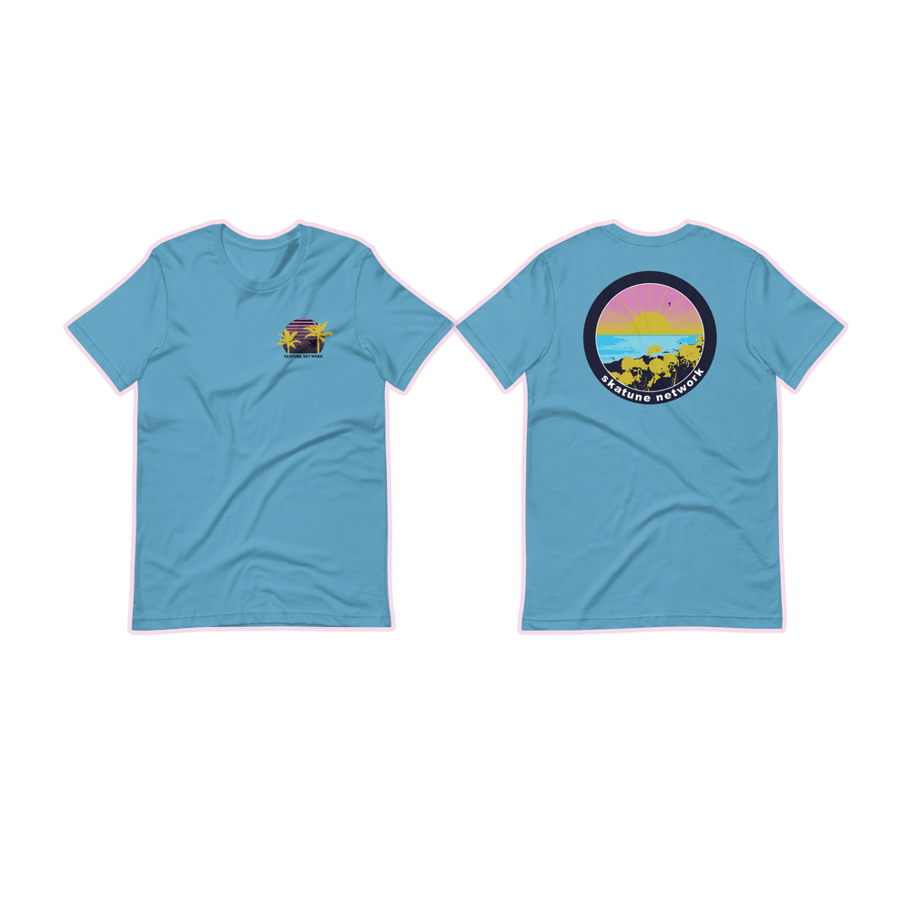 Image of OCEAN | Chest + Back Print Shirts