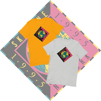 Image of SKATUNE GLOBAL 1995 | Gray or Mustard Unisex T-Shirt
