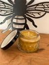 Beeswax Candle - Glass Jar