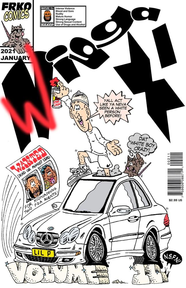 "Image of ""WIGGA-X VOLUME 11"" (2-PAGE) COMIC"