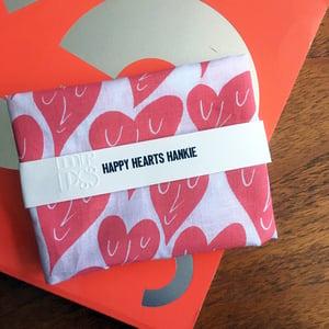 Image of Happy Hearts Hankie