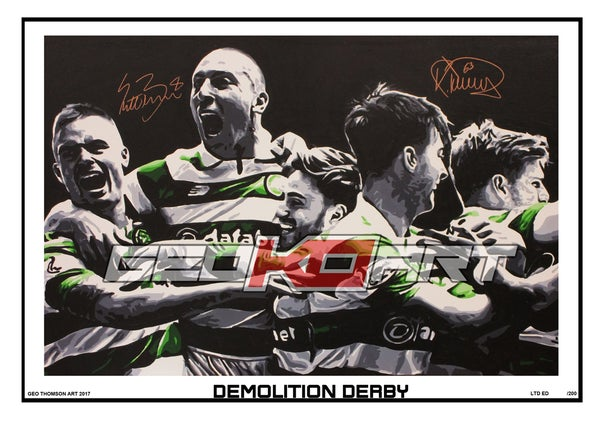 Image of DEMOLITION DERBY CELTIC V RANGERS